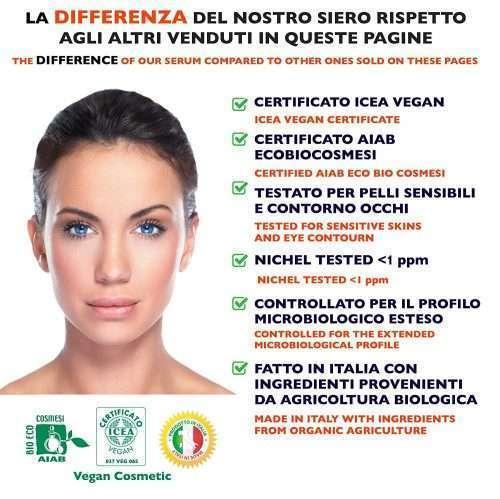 Florence Bio Cosmesi Suero Facial Orgánico Vitamina C - probado desmatologicamente