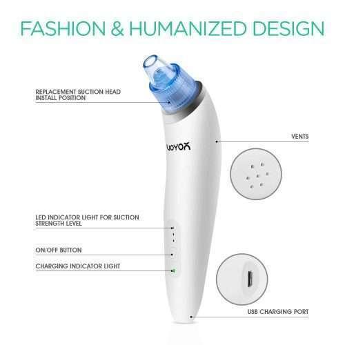 Limpiador de Poros VOYOR BR410 - usabilidad