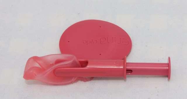 ENNA CYCLE Copa menstrual aplicación
