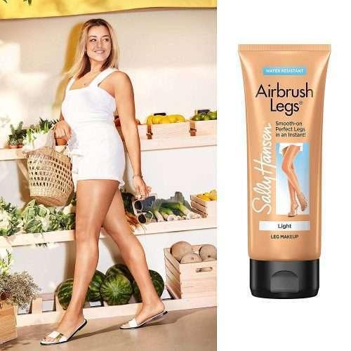 Maquillaje Ligero Para Piernas Sally Hansen Airbrush Legs Smooth color claro