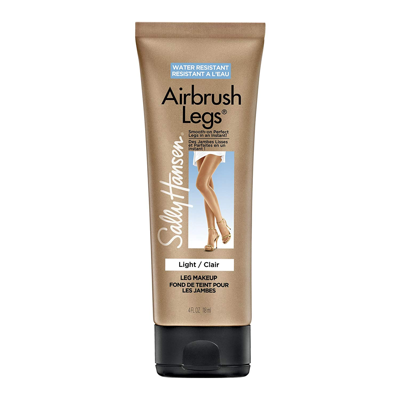 Maquillaje Ligero Para Piernas Sally Hansen Airbrush Legs Smooth producto envase