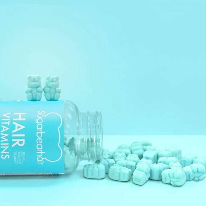 Vitaminas para el cabello Sugar Bear gomas