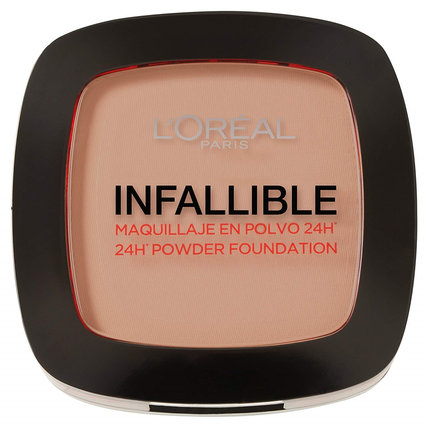 maquillaje en polvo L´Oréal Paris Make Up Designer Infallible Foundation Presentacion