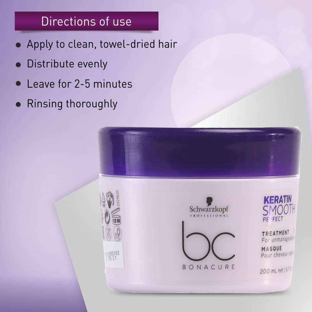 Keratin Smooth Perfect Tratamiento Schwarzkopf - Cuidado del cabello Cómo usar
