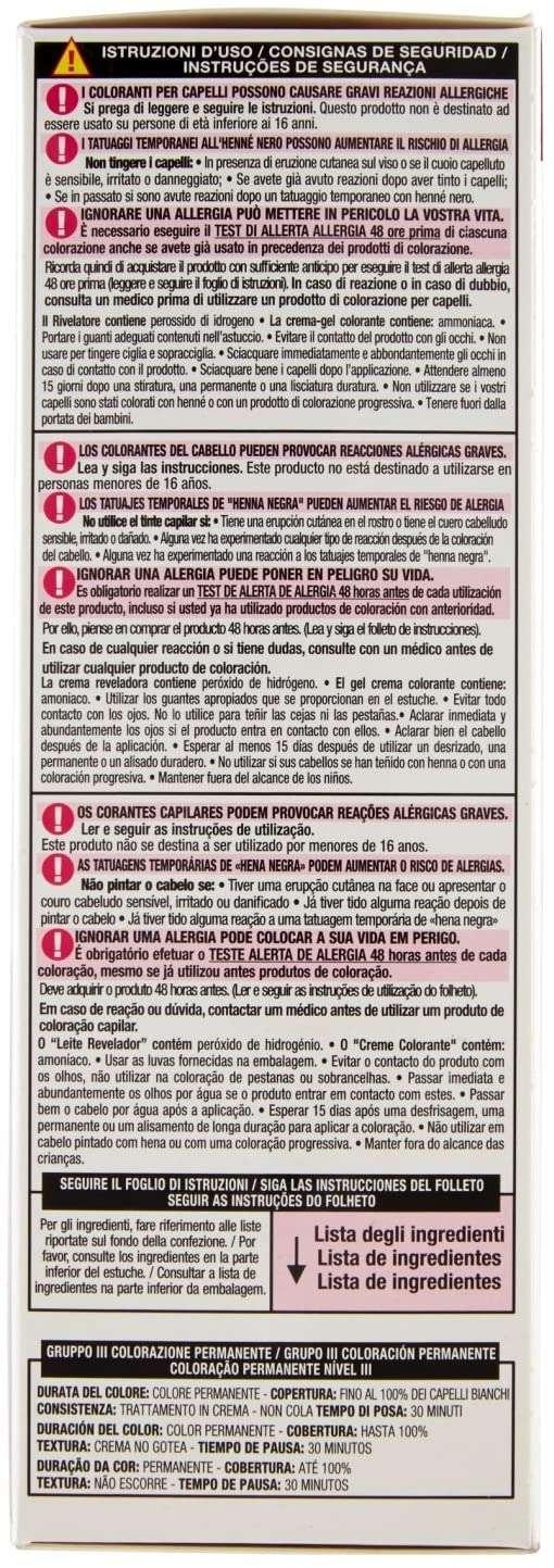 L'Oréal Paris Colorista Coloración Permanente Paint-Violeta advertencias