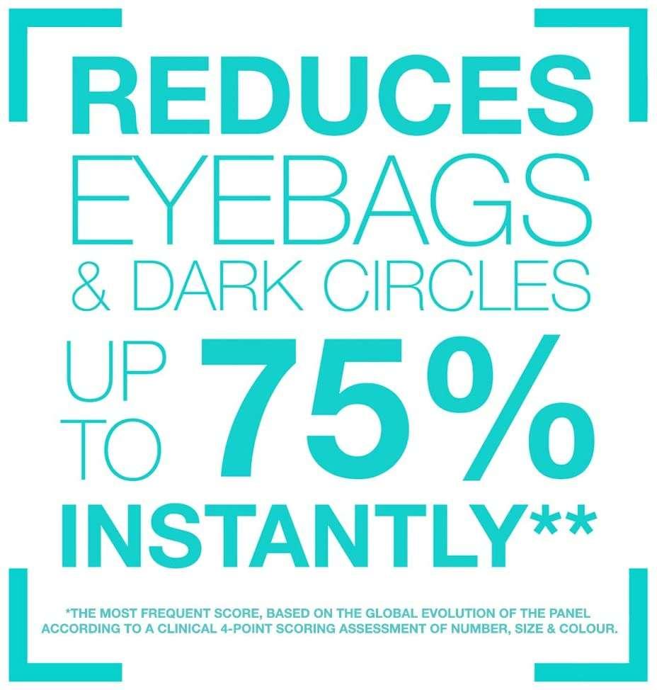 Remescar- Tratamiento instantáneo. Crema para las bolsas de los ojos, formula mejorada acción
