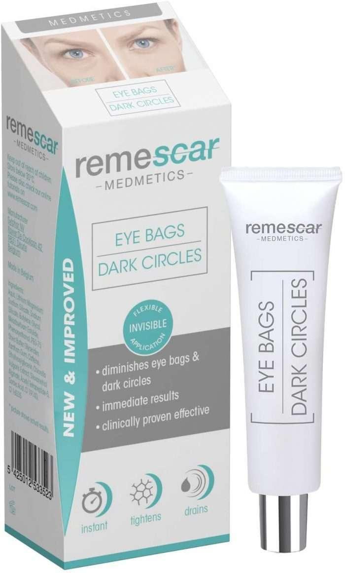 Remescar- Tratamiento instantáneo. Crema para las bolsas de los ojos, formula mejorada presentación