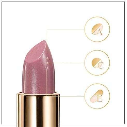 Barra de labios Astor soft tentation color and care tono 101 Silky Rose componentes