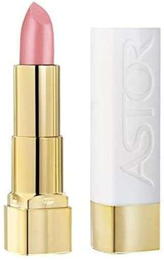 Barra de labios Astor soft tentation color and care tono 101 Silky Rose producto