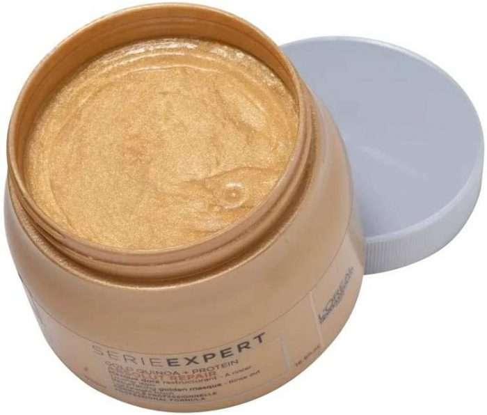 L'Oréal Expert Professional-Reparación absoluta Gold mask Contenido
