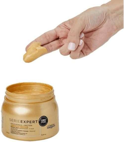 L'Oréal Expert Professional-Reparación absoluta Gold mask Textura